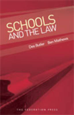 Schools and the Law (Paperback)