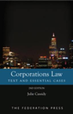 Corporations Law (Paperback)