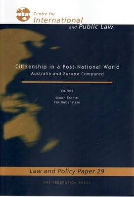 Citizenship in a Post-National World (Paperback)