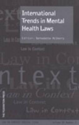 International Trends in Mental Health Laws (Paperback)