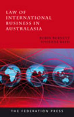 Law of International Business in Australasia (Paperback)