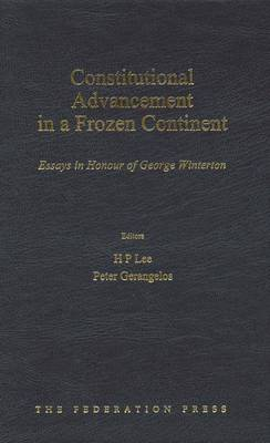 Constitutional Advancement in a Frozen Continent (Hardback)