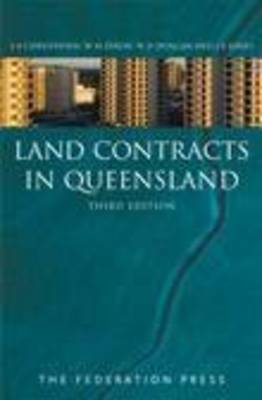 Land Contracts in Queensland (Paperback)