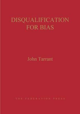 Disqualification for Bias (Hardback)