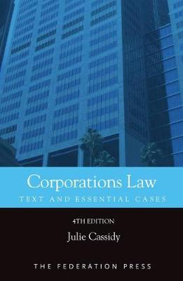 Corporations Law: Text and Essential Cases (Paperback)