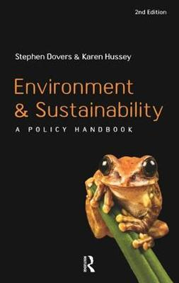 Environment and Sustainability: A Policy Handbook (Paperback)