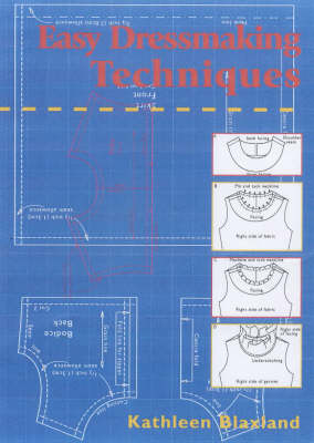 Easy Dressmaking Techniques (Paperback)