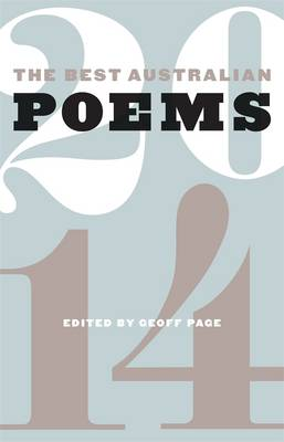 Best Australian Poems 2014 (Paperback)