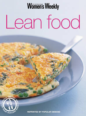 Lean Food - The Australian Women's Weekly (Paperback)