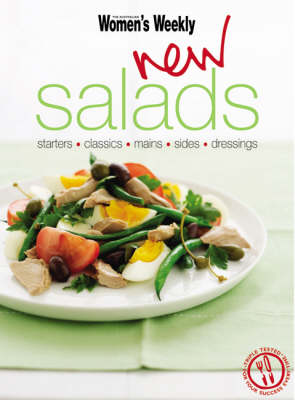 New Salads: Starters, Mains, Sides - The Australian Women's Weekly: New Essentials (Paperback)