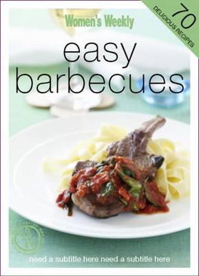 Easy Barbecues - The Australian Women's Weekly Minis (Paperback)