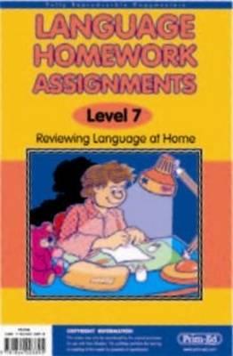 Language Homework Assignments: v. 4 (Paperback)