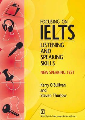Focusing on IELTS - Speaking and Listening Skills Book (Board book)