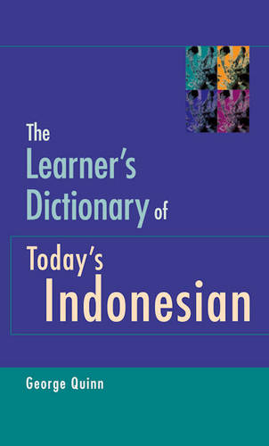 The Learner's Dictionary of Today's Indonesian (Paperback)