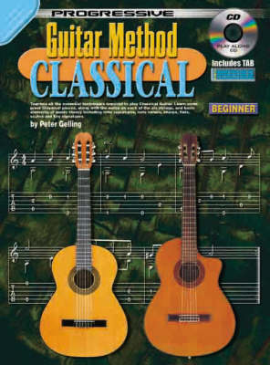 Guitar Method: Classical: Beginner (Progressive ) (Paperback)