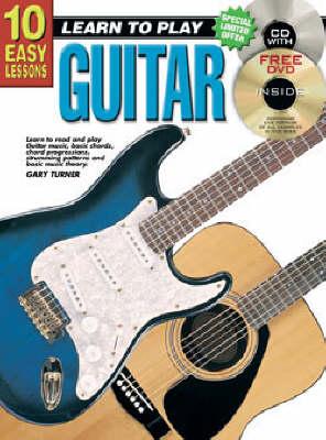 10 Easy Lessons Guitar Bk/CD: Guitar Bk/CD (Paperback)