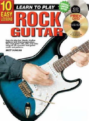 10 Easy Lessons Rock Guitar Bk/CD: Rock Guitar Bk/CD (Paperback)