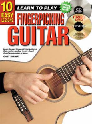 10 Easy Lessons Fingerpick Guitar Bk/CD: Fingerpick Guitar Bk/CD (Paperback)