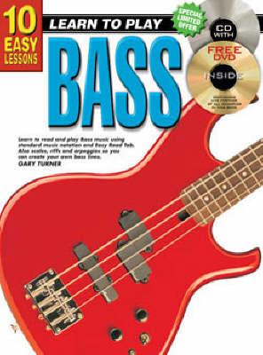 10 Easy Lessons Bass Bk/CD: Bass Bk/CD (Paperback)