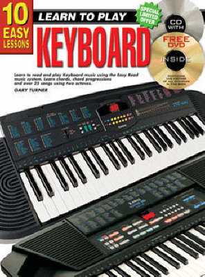 10 Easy Lessons Keyboard (Paperback)