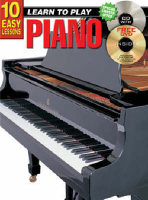 10 Easy Lessons Piano Bk/CD: Piano Bk/CD (Paperback)