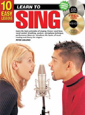 10 Easy Lessons Sing Bk/CD: Sing Bk/CD/DVD (Paperback)