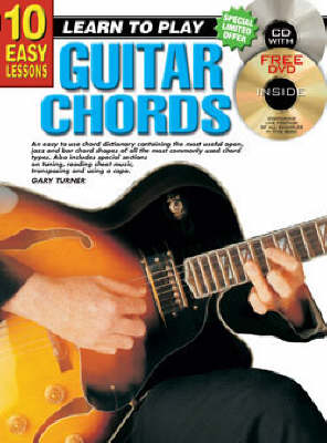 10 Easy Lessons Guitar Chords Bk/CD: Guitar Chords Bk/CD (Paperback)