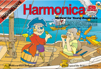Progressive Harmonica Method For Young Beginners (Paperback)