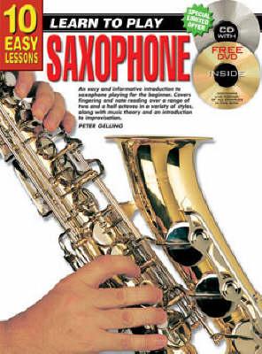 10 Easy Lessons Saxphone Bk/CD: Saxphone Bk/CD (Paperback)
