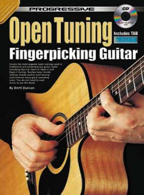 Open Tunings Fingerpicking Guitar Method (Progressive ) (Paperback)