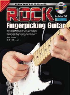 Rock Fingerpicking Guitar Method (Progressive ) (Paperback)