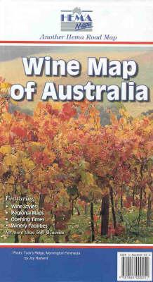Wine Map of Australia - Australia Maps (Sheet map)