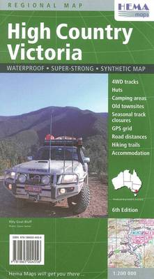 High Country Victoria: HEMA.2.295 (Sheet map)
