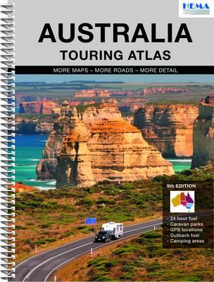 Australia Touring Atlas (Spiral bound)