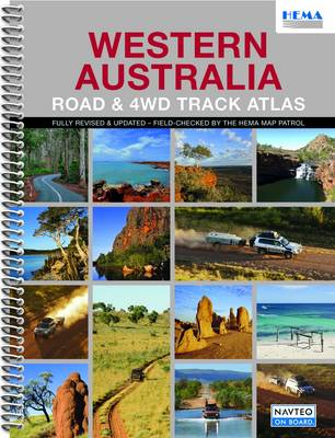 Western Australia Road and 4WD Track Atlas: HEMA.A.DIS28SP (Spiral bound)