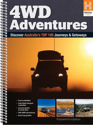 Australia 4WD Adventures Atlas: HEMA.A.042SP (Spiral bound)