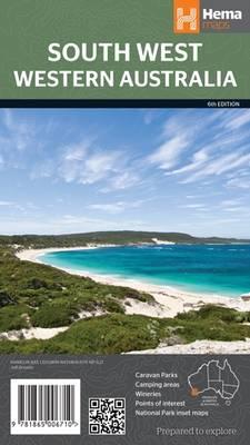 Western Australia South West NP 2013 (Sheet map, folded)