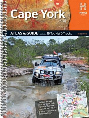 Cape York Atlas Guide 2014: HEMA.A.DIS40SP (Spiral bound)