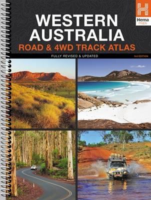 Western Australia 4WD Track Atlas A4 Spiral 2015: HEMA.A.DIS28SP (Sheet map)