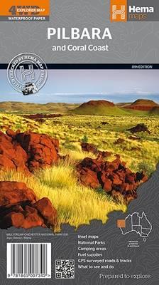 Pilbara and Coral Coast 2014 (Sheet map, folded)