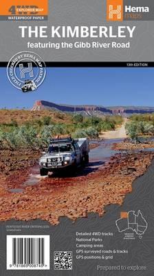 Kimberley-(Gibb River Road) 2014: HEMA.2.105 (Sheet map, folded)