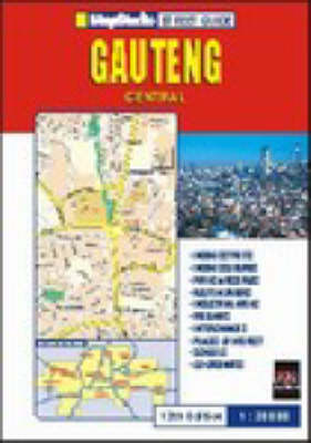 Gauteng Central Street Guide (Sheet map)