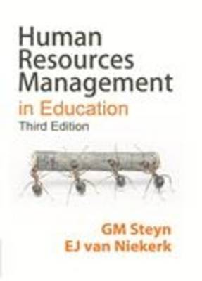 Human resources management in education (Paperback)