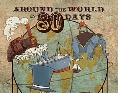 Around the world in eighty days: The India section (Paperback)