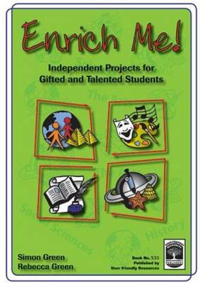 Enrich Me!: Independent Projects for Gifted and Talented Students (Paperback)