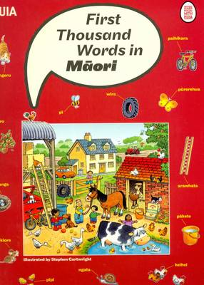 First Thousand Words in Maori (Paperback)