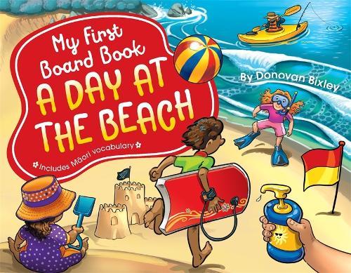 My First Board Book: A Day at the Beach - My First Board Book (Board book)