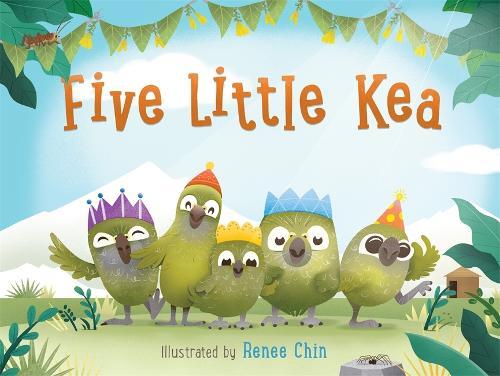Five Little Kea (Paperback)