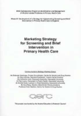 Marketing Strategy for Screening and Brief Interventions in Primary Health Care (Paperback)