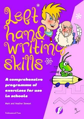 Left Hand Writing Skills Book